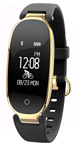 Zuoli Smart Watch Mixed Band For Android & iOS,Black - B07FY71N45