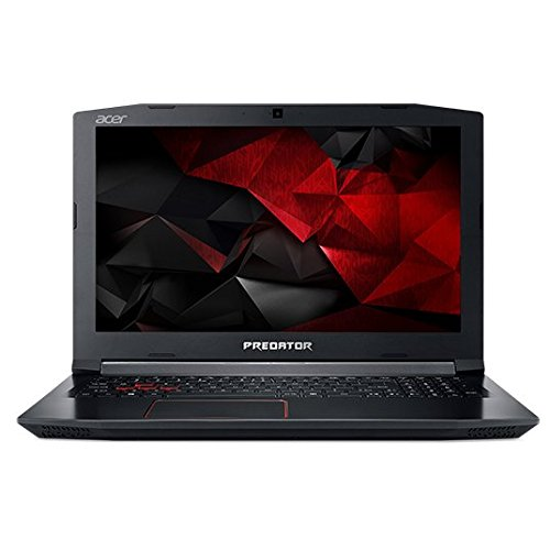 Acer Predator PH315 51 74V4 i7 8750H GeForce - Acer Predator Helios PH315-51-74V4 FHD 15.6 Inch, 2.2Ghz Intel Core i7-8750H Hexa Core, 16GB RAM, 256GB SSD+1TB HDD, NVIDIA GeForce GTX 1060 VGA, Eng-KB, Windows 10, Black